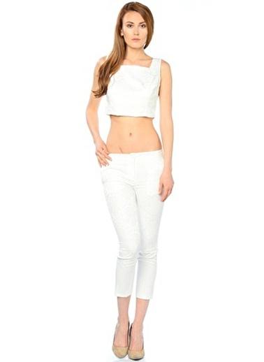 Sense Pantolon Beyaz